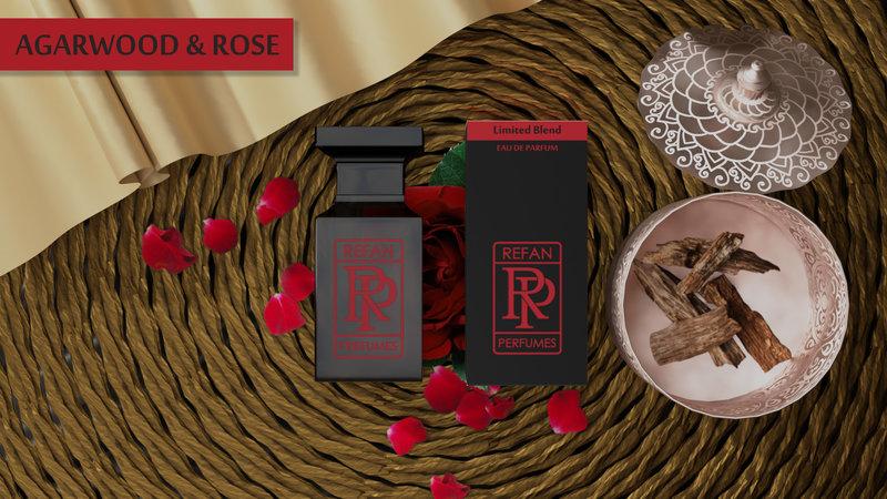 Smaržas AGARWOOD & ROSE by REFAN