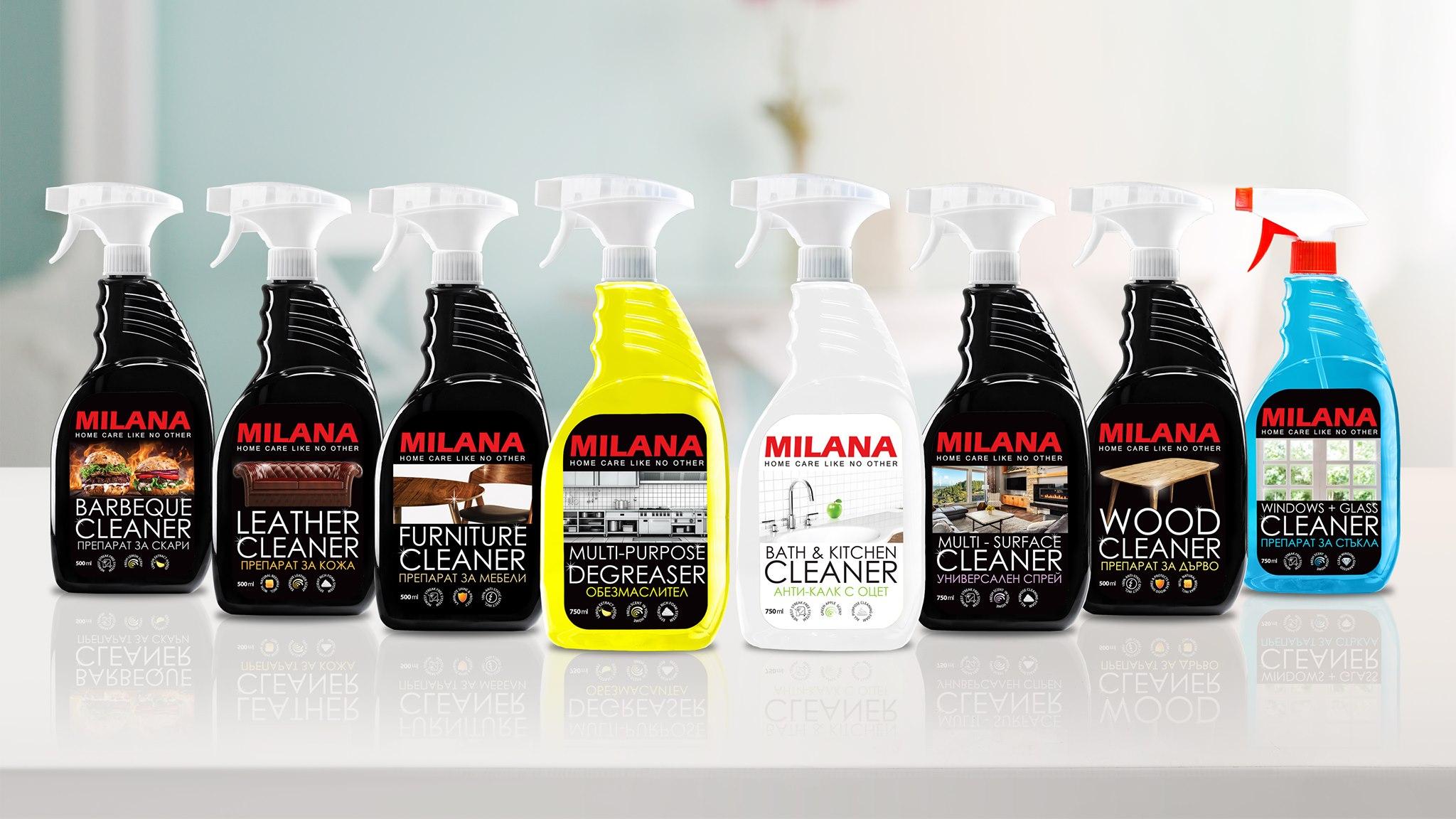 Tīrīšanas līdzeklis– putas ādas virsmam ar bišu vasku MILANA