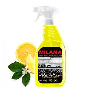 Universāls attaukošanas līdzeklis-putas ar citrusaugļu aromātu MILANA
