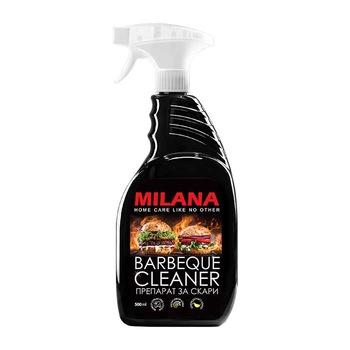 Grilēšanas ierices, cepeškrāsns un grila tīrīšanas līdzeklis MILANA