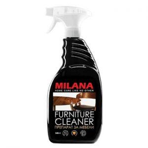 Mēbeļu tīrīšanas līdzeklis – LDF, (skaidu plātņu), MDF un laminētām virsmām MILANA