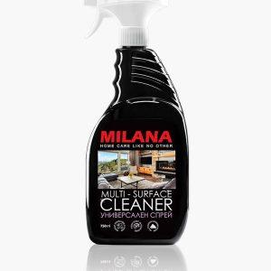 Universāls virsmu tīrīšanas līdzeklis – putas MILANA