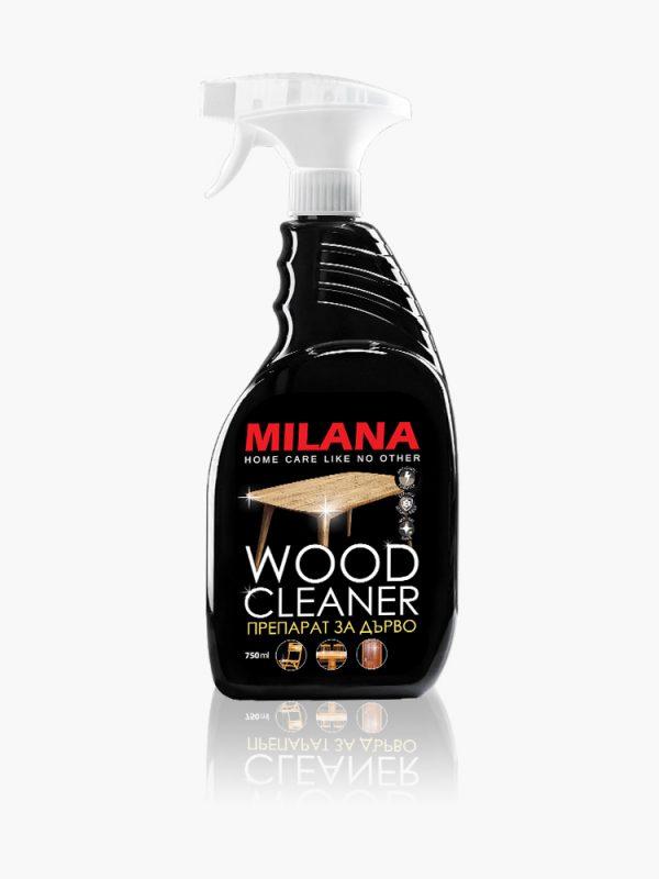 Koka virsmas tīrīšanas līdzeklis ar bišu vasku MILANA