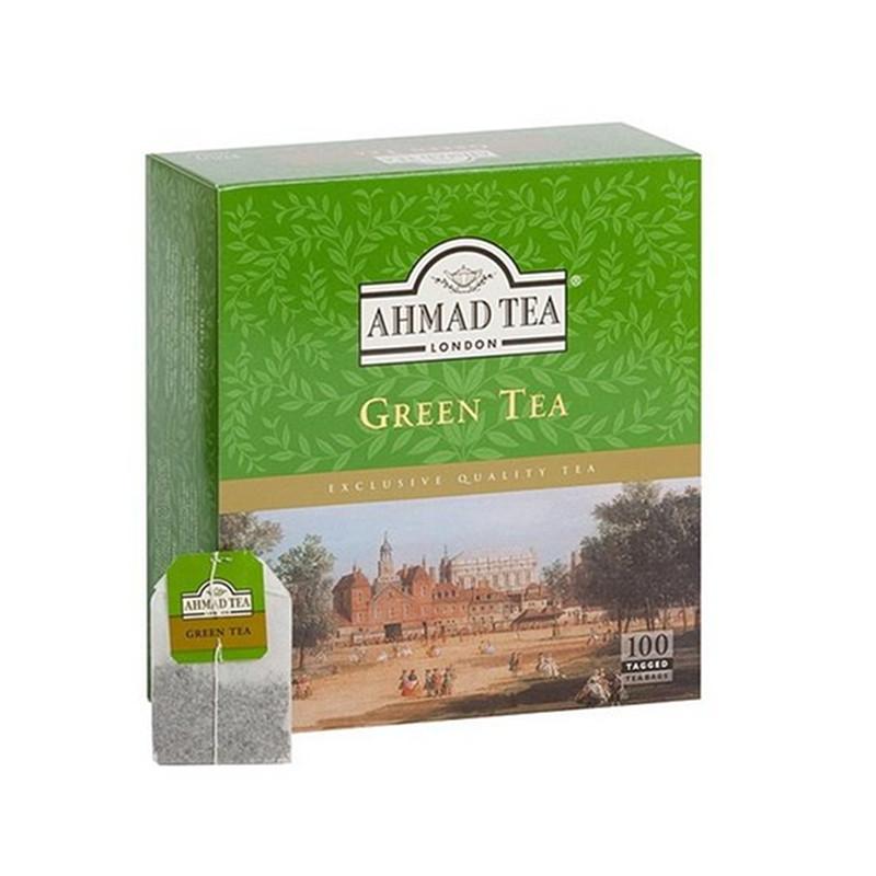 AHMAD Tēja Green Classic Tea. Green Tea. (100 gb  2 gr) 200g