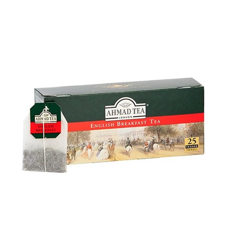 AHMAD Tēja Black Classic Tea. English Breakfast (25 gb  2 gr) 50g