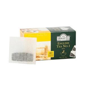 AHMAD Tēja Black Classic Tea. English Tea No 1 (40 gb  2 gr) 80g