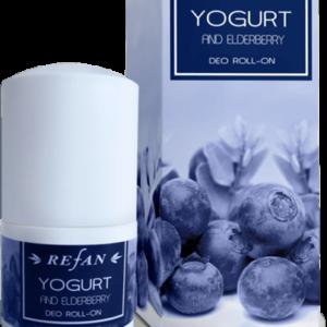REFAN Ķermeņa dezodorants «Jogurts un plūškoks»