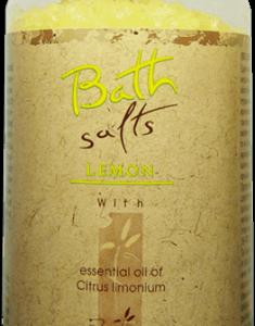 """REFAN Aromterāpijas vannas sāls """"Citrons"""""""