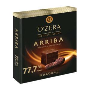Tumša šokolāde «O`Zera» Arriba 77.7 % 90g