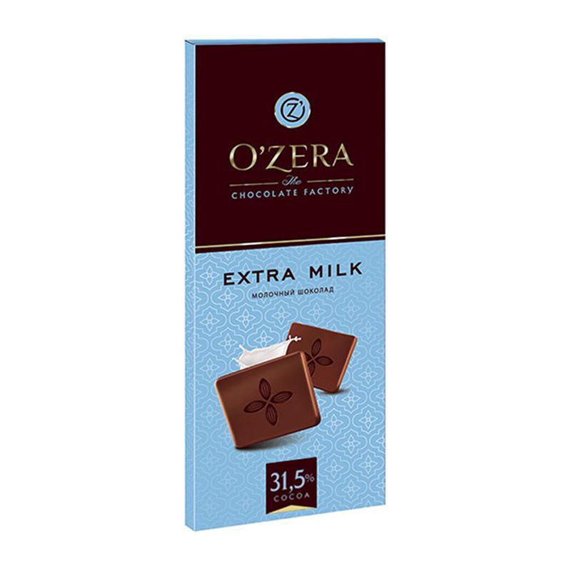 Piena šokolāde «O`Zera» Extra milk 90g