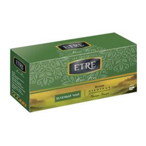 """Zaļā tēja paciņās """"Etre Mao Feng"""" (25 gb. 2 gr.) 50g"""