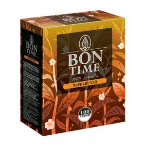 """Beramā melnā tēja """"BONTIME"""" 100g"""