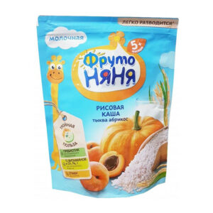Sausā piena rīsu putra ar ķirbi un aprikozēm bērniem no 5 mēnešu vecuma 200g