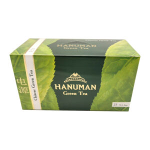 """Hanuman """"Green Tea"""" zaļā tēja (25 gab) 50g"""
