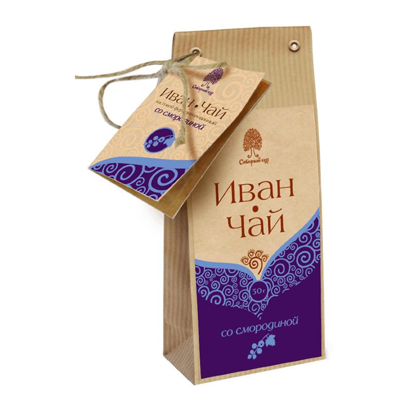 """Ugunspuķes tēja """"Сибирский кедр"""" ar melno jāņogu 50g"""