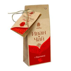 """Ugunspuķes tēja """"Сибирский кедр"""" ar brūklenēm 50g"""