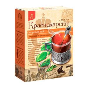 """Beramā melnā lielo lapu tēja """"Краснодарскiй с 1901 года"""" 100g"""