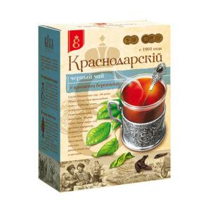Melnā tēja ar bergamotes aromātu «Краснодарскiй с 1901 года» 100g
