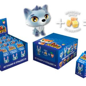 """Rotaļlieta ar sukādem """"Fox Stories"""" 7g"""