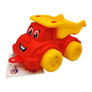 """Bērnu mini mašīnīte """"Pašizgāzējs"""" ar cilpiņu virvei"""
