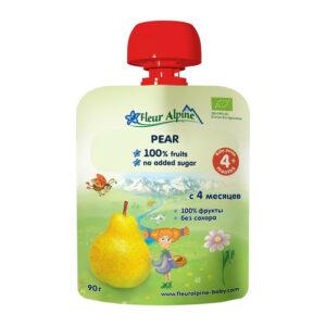 Bumbieru biezenis Fleur Alpine Organic bērniem no 4 mēnešu vecuma 90g