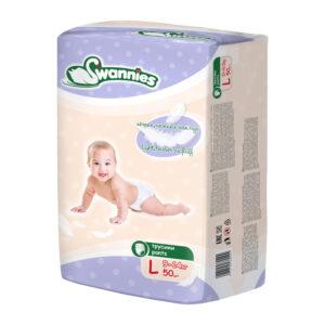 Bērnu biksītes Swannies Ultra thin L (9-14 kg) 50 gb
