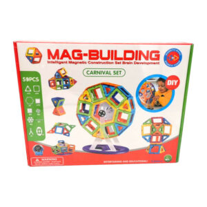 Magnētiskais konstruktors Mag-Building Carnival 58 detāļas