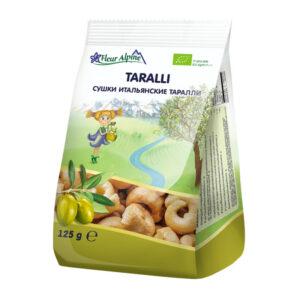 Itālijas Taralli  Fleur Alpine Organic bērnu sausiņi no 12 mēnešiem 125g
