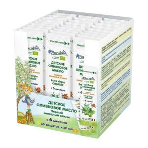 Extra virgin olīveļļa Fleur Alpine Organic bērniem no 6 mēnešu vecuma 10ml