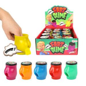"""Jauka rotaļlieta stresa noņēmējs """"FART SLIME"""""""