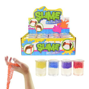 """Jauka rotaļlieta stresa noņēmējs """"SLIME WITH FOAM BALLS"""""""