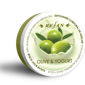 REFAN Ķermeņa skrubis «Jogurts un olīva»