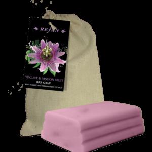 REFAN Passion Fruit un Yogurt Ziepes audekla maisiņā