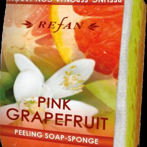 REFAN Pīlinga ziepju sūklis «Rozā greipfrūts»