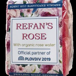 REFAN Ziepes sūklis Refan's Rose