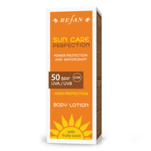 REFAN Ķermeņa losjons SPF 50 UVА/UVВ SUN CARE PERFECTION