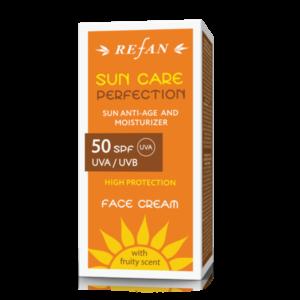 REFAN Sejas krems SPF 50 UVA/ UVB SUN CARE PERFECTION