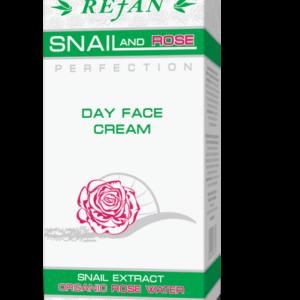 REFAN Dienas sejas krēms SNAIL AND ROSE PERFECTION