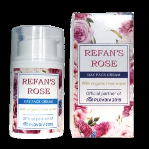 REFAN Dienas sejas krēms Refan's Rose