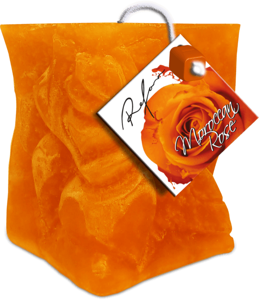 REFAN Aromatizēta svece «Marokas roze»