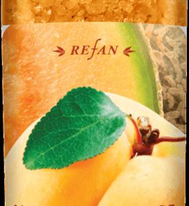 """REFAN Aromterāpijas vannas sāls """"Melone un aprikoze"""""""